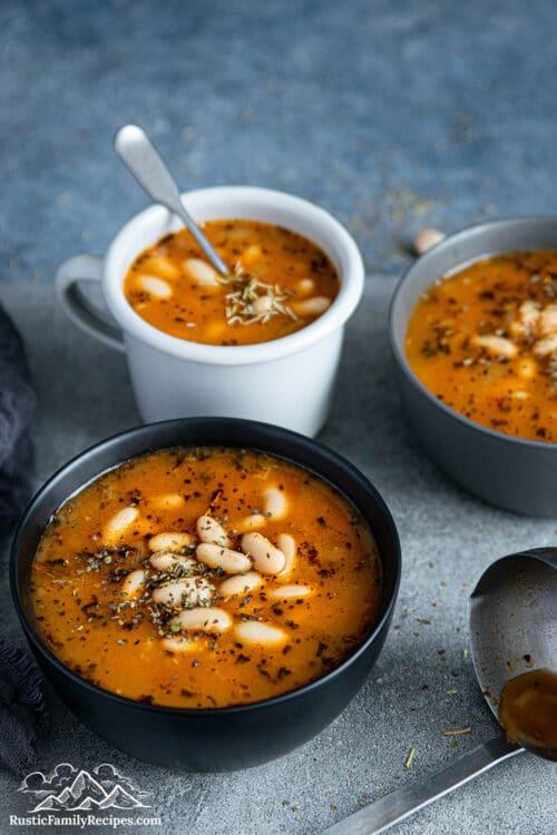 Smokey White Bean Soup