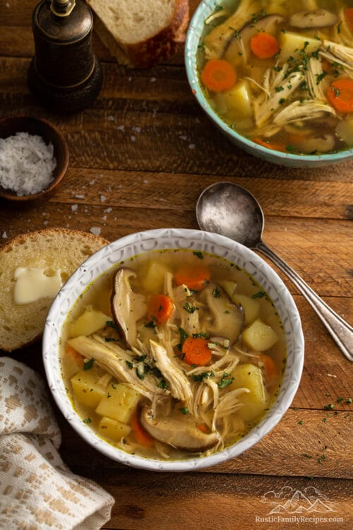 Healing Instant Pot Chicken Soup