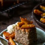 Spice Cake With Caramelized Apples